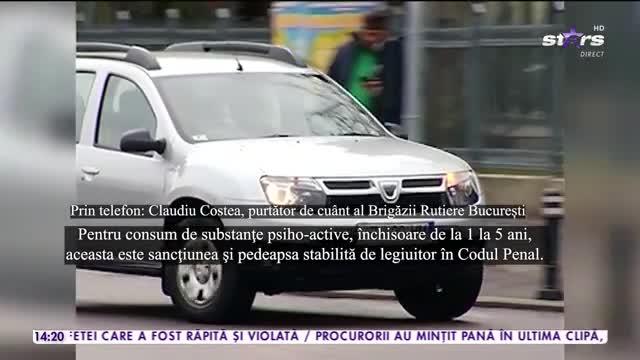 Fiul lui Marian Ionescu de la Direcția 5, prins sub influența substanțelor interzise