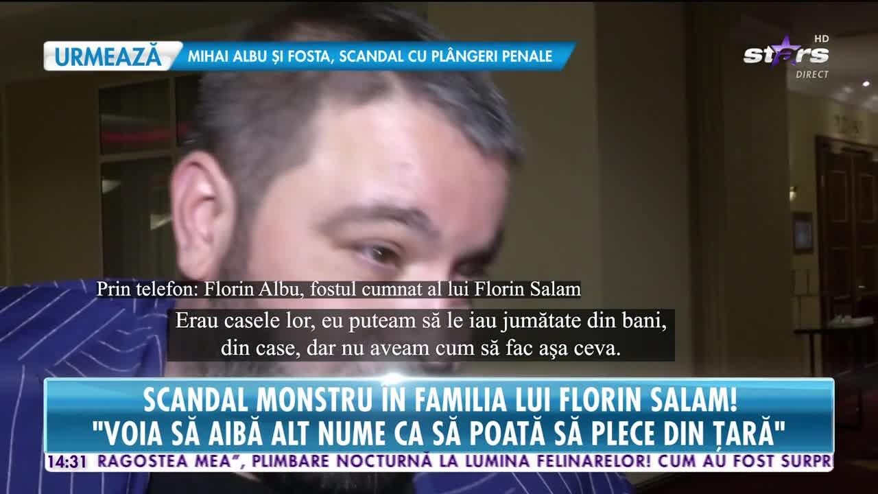Scandal monstru cu blesteme în familia lui Florin Salam!