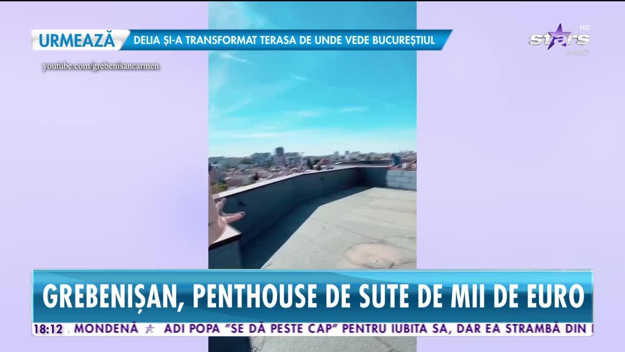 Carmen Grebenișan, penthouse de un sfert de milion de euro