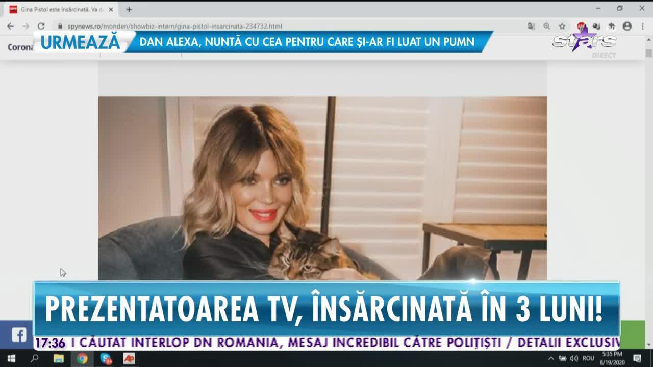 Gina Pistol, însărcinată în trei luni!
