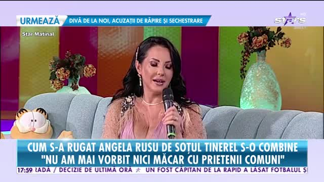 Cum şi-a cucerit Angelina Rusu soțul tinerel