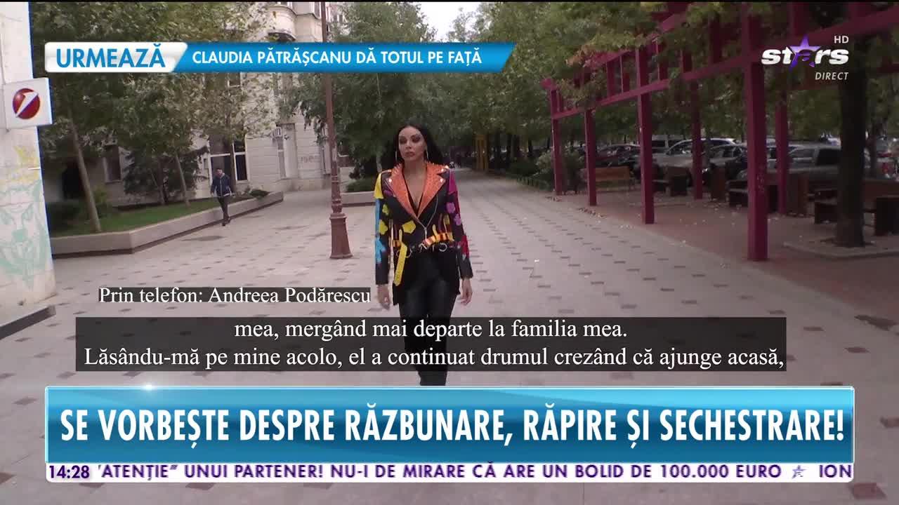 """Andreea Podărescu, declarații șocante: """"Puteam să fim omorâți"""""""