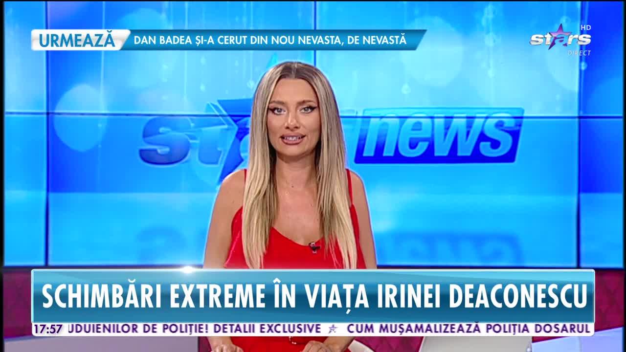 Schimbări extreme în viața Irinei Deaconescu