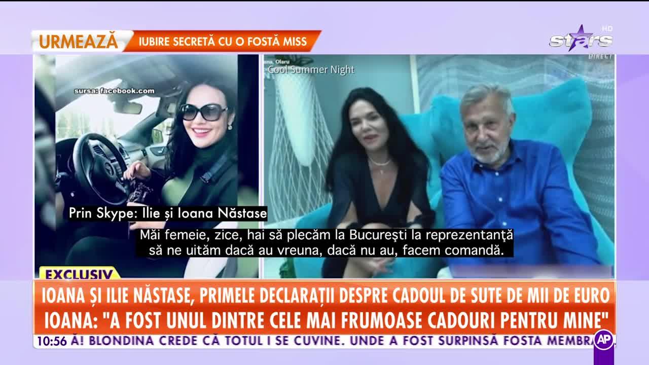 Ioana și Ilie Năstase, primele declarații despre cadoul de sute de mii de euro