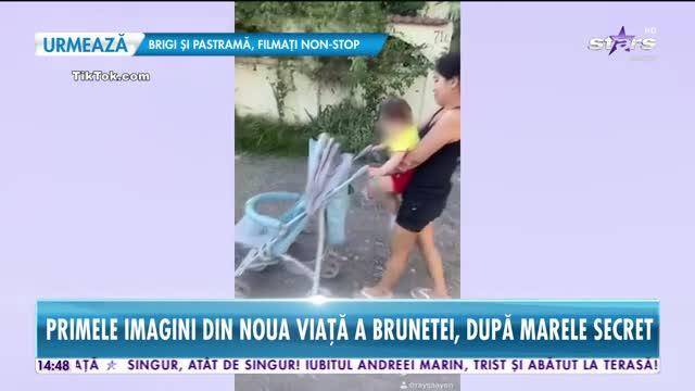 Raluca Macovei, filmată cu o armată de bone după ea!