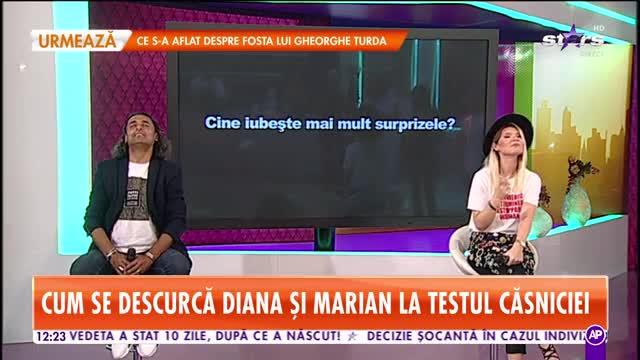 Diana Matei și Marian Cleante, testul relației. Cât de bine se cunosc cei doi