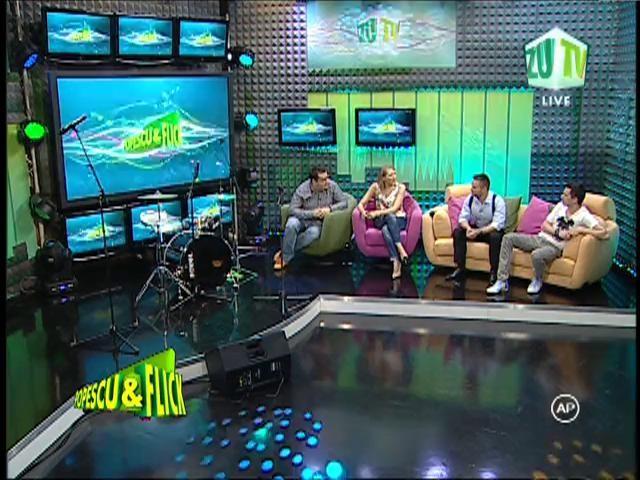 Mirela Boureanu Vaida şi Ionuţ Ungureanu, fani Eurovision