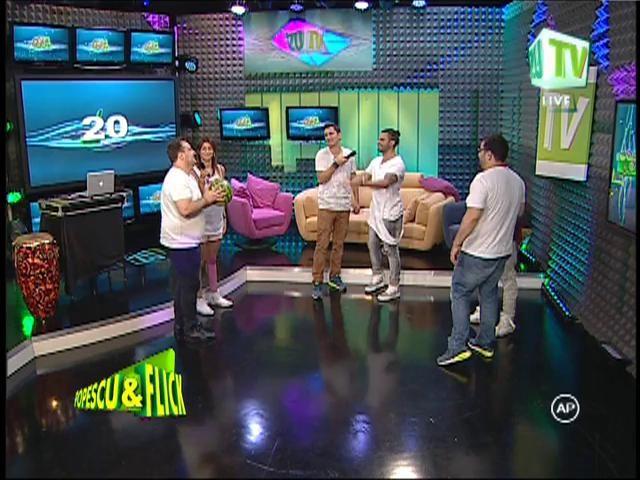 """Pepe, Jimmy Dub și Arando au jucat """"Lapte gros"""" la ZU TV"""