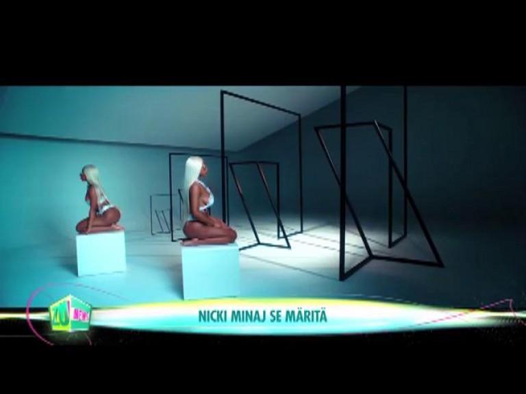 Nicki Minaj se mărită