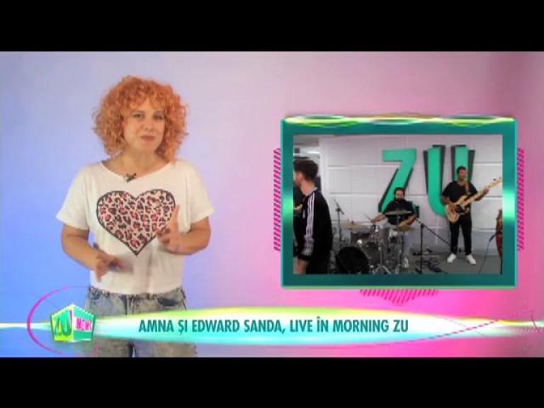 Amna și Edward Sanda, live în Morning ZU
