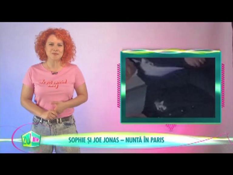 Sophie și Joe Jonas - Nuntă în Paris