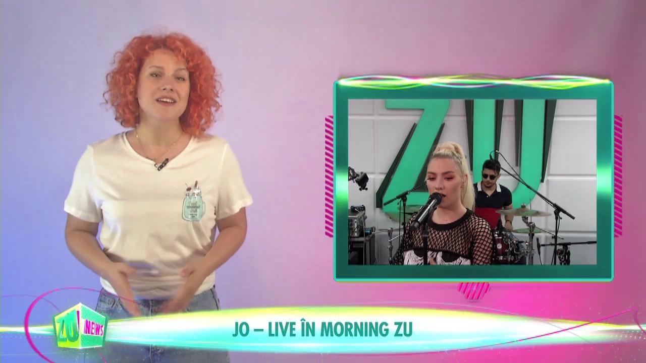 JO - live în Morning ZU