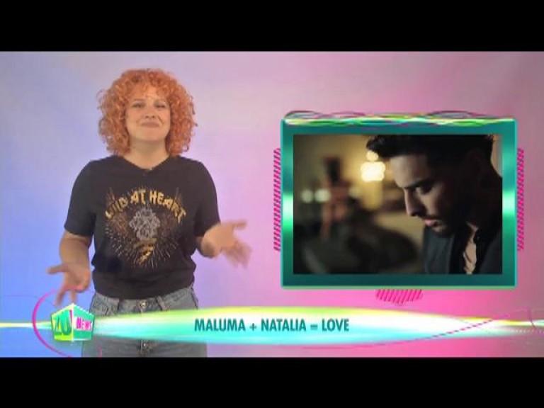 Maluma + Natalia = LOVE