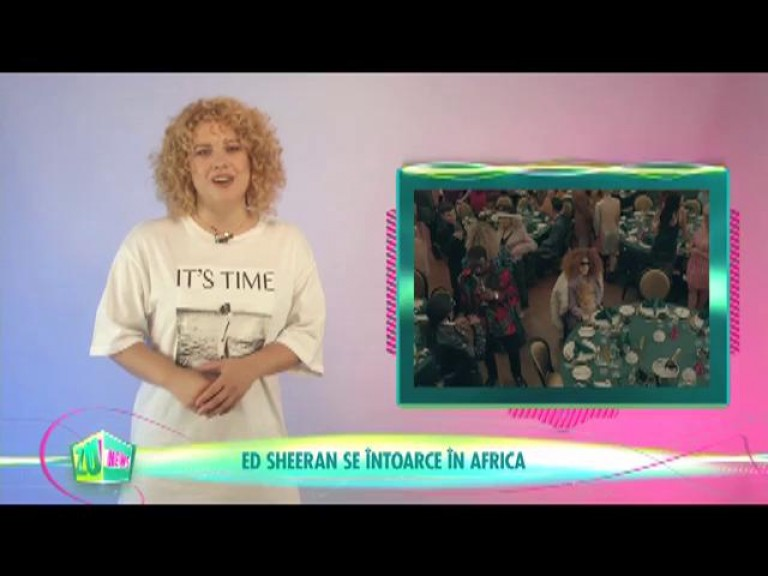 Ed Sheeran se întoarce în Africa