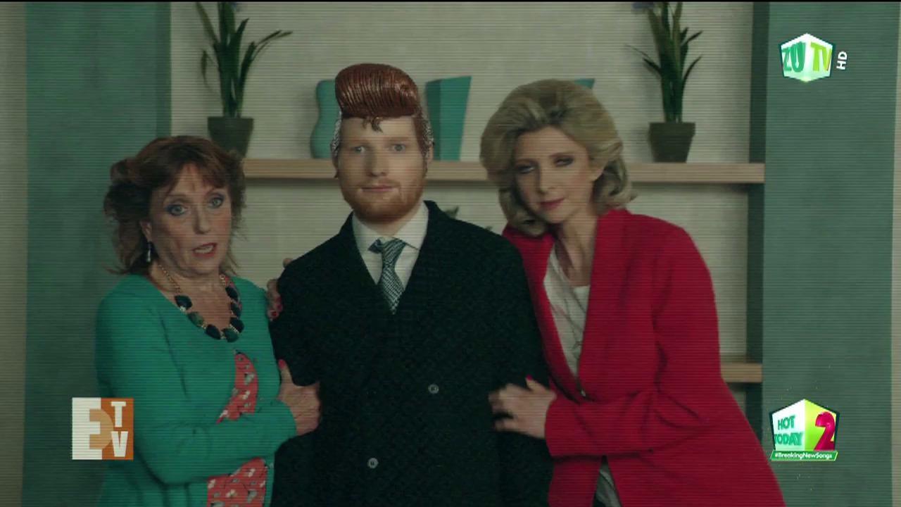 "Ed Sheeran si Travis Scott, maraton de referințe cinematografice în noul videoclip ""Antisocial"""