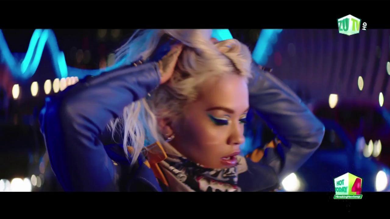 """Rita Ora, pilot de curse în videoclipul piesei """"New Look"""""""