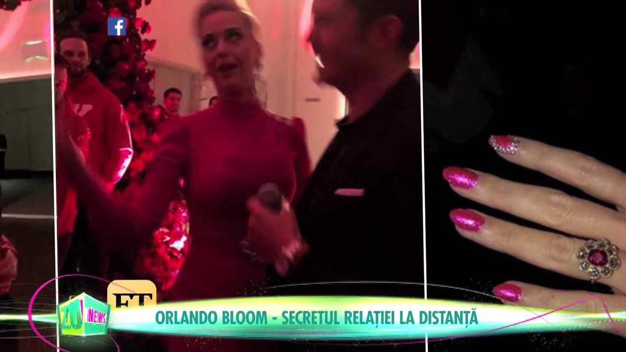 Katy Perry și Orlando, relație la distanță
