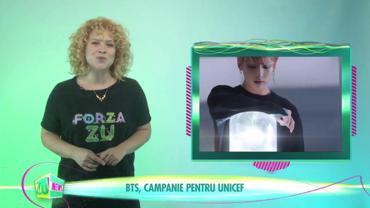 BTS, campanie pentru UNICEF