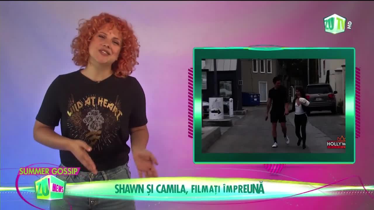 Shawn Mendes și Camila Cabello, filmați împreună