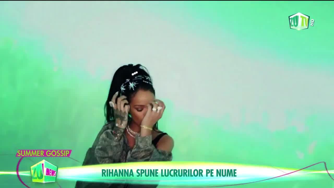 Rihanna, mesaj politic pentru Donald Trump