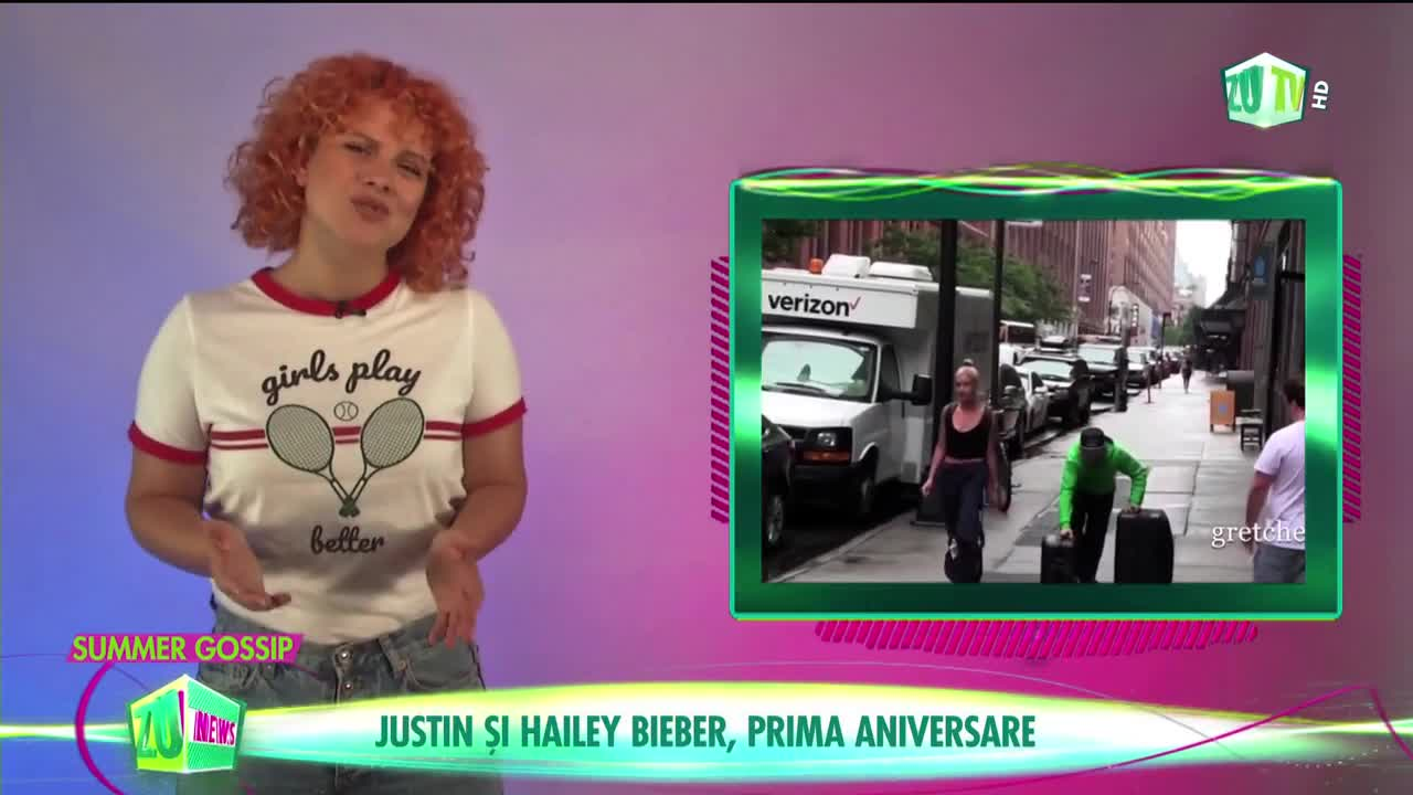 Justin Bieber şi Hailey Baldwin, prima aniversare