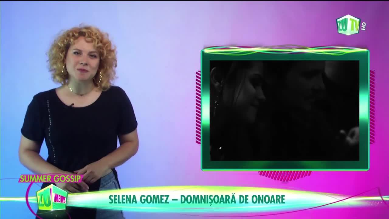 Selena Gomez, domnișoară de onoare